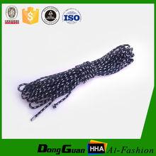 Venta caliente fabricación 3 mm trenzada de nylon cuerda precio para la venta al por mayor