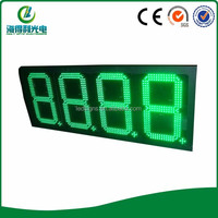 Wireless RF remote Outdoor Programmable Led Gas Price Sign