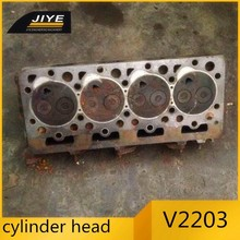 Excavator ,truck , forklift , Engine Parts engine cast iron cylinder head V2203