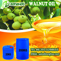 cold pressed walnut oil for strengthening the hair follicles factory of China