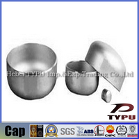 ANSI B16.9 butt welded pipe fittings Carbon Steel pipe Cap