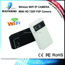 2015 new HD 720P Wireless WiFi P2P 30fps digital recording mini covert wifi camera, for iphone, ipad, android
