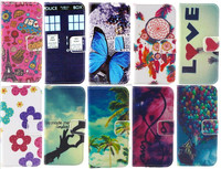 IMD customized pattern PU leather Case for iPhone 5 5s Soft TPU wallet case