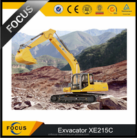 2015 lowest price new excavator XE215C for sale