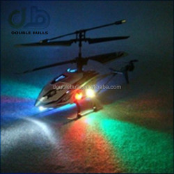 Helicopter 3 Channel Infrared Remote Control with Gyroscope & LED Lights.