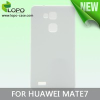 New arrival blank 3D sublimation printable case for Huawei Mate 7