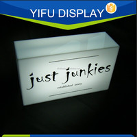 Acrylic Light Box Advertising Light Boxes Acrylic Led Display Box 220Volt With Denmark/Europe System