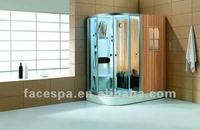 Steam Showers Enclosure & Sauna Room Dual Purpose for 1 Person