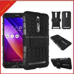 pc tpu case for Asus Zenfone 2,armor kickstand cover for Asus Zenfone 2
