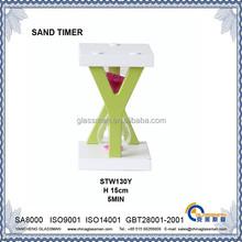 Fashion alphabet Y sand timer 5 MIN Hourglass STW1301Y
