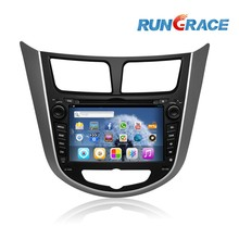 Android 4.2 Car DVD Player for Hyundai Verna with GPS 3G wifi