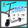 dirt scooter 3 wheel , district scooter, two wheel scooter with color option