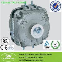 YZ series italy ac fan motor/shaded pole motor/copper wire fan motor