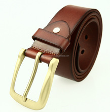 hot sale alloy buckle screw off and on for interchangable buckles high quality full grain cowhide brown black fashion men belt