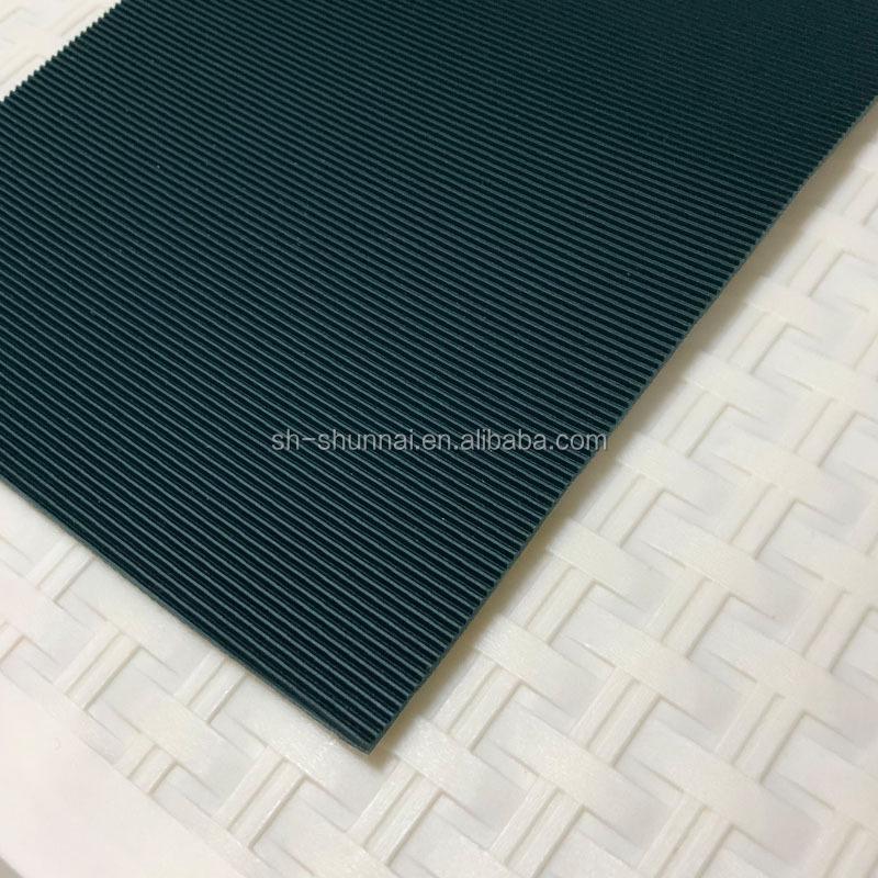 최신 아름다운 무늬 고무 2 겹 컨베이어 벨트