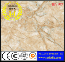glazed porcelain marble polished tile from Zibo factory with superior quality and very reasonable price