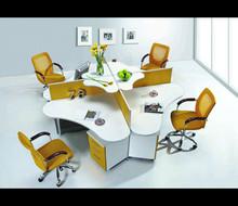 2015 modern office furniture with melamine computer desk HJ-198-02