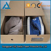 Cardboard carton box for shoes packaging