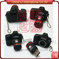 customize promotional gift pvc usb drive mini camera flash memory disk