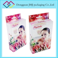 Accept custom PVC PET acrylic cosmetic box lipstick packaging and skin care products packaging