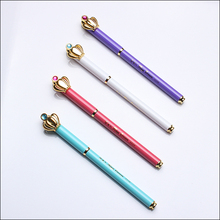 High Quality New Design Colorful Crown Metal Pen with custom logo