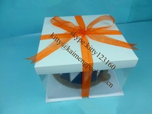 6inche cheese birthday paper cake box packaging for sale