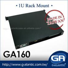 GA160- 1u server Rack Computer Case nas storage mini itx computer