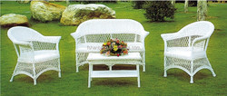 indoor white wicker rattan furniture