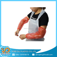 protective sleeves for arms/clear plastic protective sleeve/plastic arm sleeve