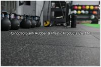 Safty crossfit rubber flooring mat weight lifting mat for gym