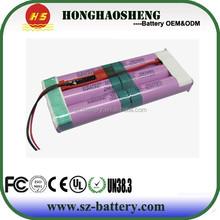 HHS factory promotion 3.7v 12000mah li-ion battery pack