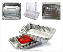 high quality large size disposable aluminum foil trays