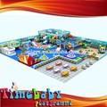 interesante 2014 colorido diseño para los niños pequeños el juego interior del parque