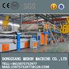 Hot sale package line corrugated cardboard making machine