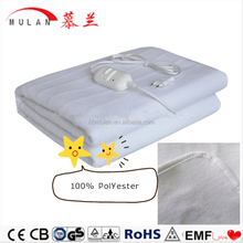 2015 New 100% polyester charging electric blanket