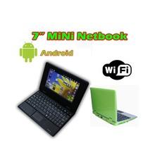 7 inch mini laptop 800x480 pixels Android Laptop