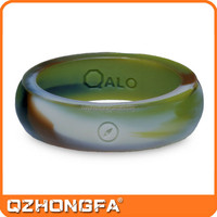 Customized cheap wholesale silicone finger ring