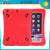 Top sell design red Tablet pc cases with shoulders strap for Ipad Air