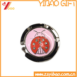 Beautiful already design small MOQ bag hanger/purse holder