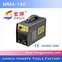 Super Quality New condition IGBT DC motor inverter mig/mma welder 140 welding machine