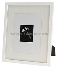 Modern Plastic photo frame for Cardboard mat opening Floater frames with Halloween Picture Frame