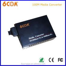 Digital 2km Dual fiber media converter