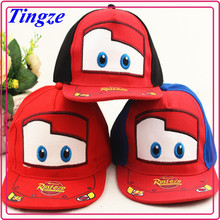 Lovely cartton robocar poli new design kids caps and hats children sports caps