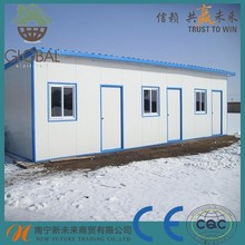 Cheap container home one bedroom modular homes