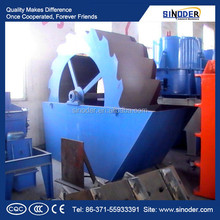 Commercial spiral sand washing machine used for removing dust in sand