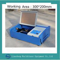 3040 mobile screen protector laser cutting machine 40w