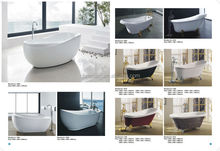 free standing easy install sinple and cheap bathtub