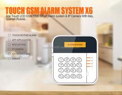 GSM Wireless intelligent Alarm,GSM alarm sysyem 433/868Mhz for home /office/shop