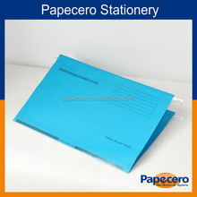 High Quality Colorful Paper A4 Vertical Hanging File Folder
