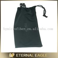 Eco-friendly plain pencil pouch, handmade felt pen pouch, white pouch drawstring logo